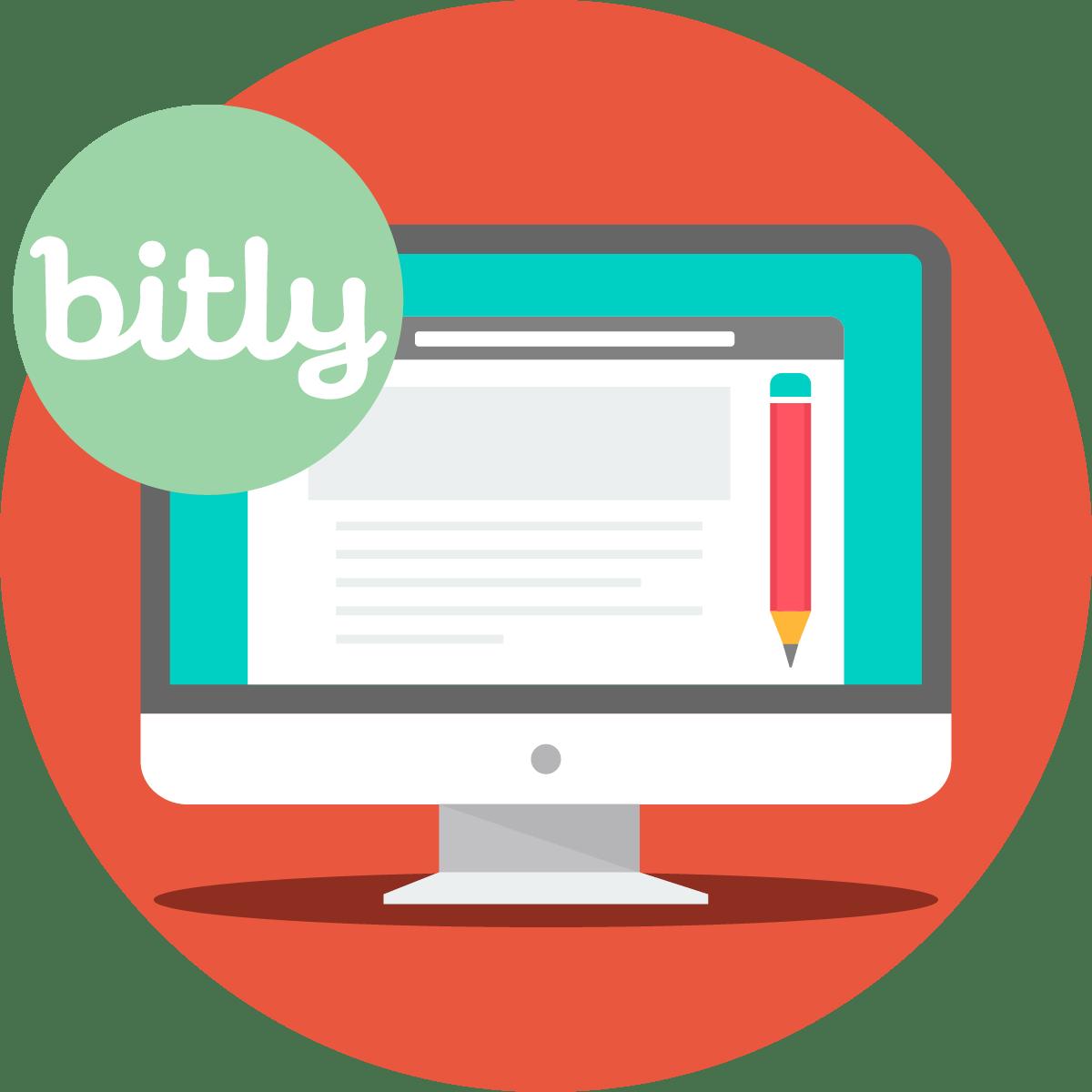 頭6個月內 bit.ly 網址的點擊和分佈