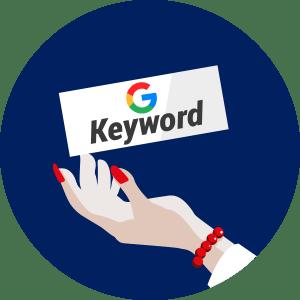 從Google查看那些網站最影響這個Keyword
